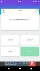 Quiz Design Play Quiz Material Design