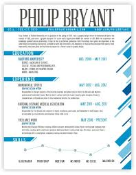 Graphic Design Resume and Creative Resume Design web design skills resume  by philip bryant