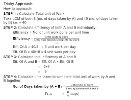 hence a and b together will finish the work in 40 9 days
