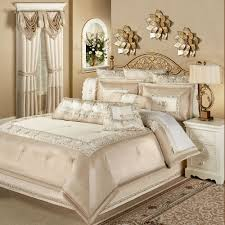 silk luxury bedding. Beautiful Luxury Elegante Sequined Comforter Set Light Cream Throughout Silk Luxury Bedding S