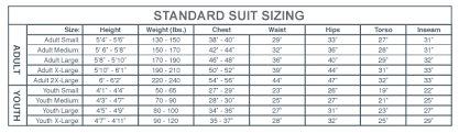 Suit Pants Size Chart Impact Sfi 15 Team Drag 2 Piece Racing Suit Pants