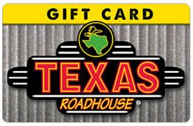 see our other items texas roadhouse gift card