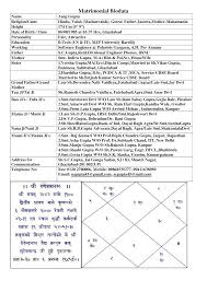 Marriage Biodata Sample Doc Marathi Format Easy See And Dreamswebsite