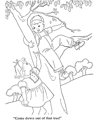 Small Picture Vintage children in tree Adult Coloring Pages Pinterest