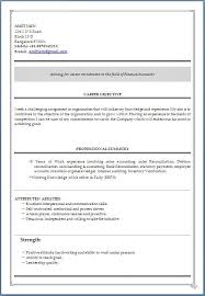 Resume Format For Freshers In Ms Word Resume Example