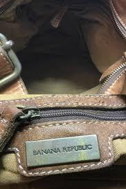 banana republic large leather purse bag shoulder bag brown leather gliqeldugd