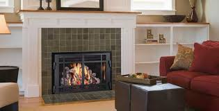 FullView Gas Fireplace Insert by Mendota Hearth