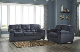 Orange Living Room Set Dailey Collection Midnight Blue Living Room Set By Ashley 9540238
