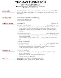 Resume Font Style And Size Printable Of Type Resumes Best For