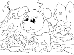 Small Picture Pictures Of Puppies To Color And Print Coloring Coloring Pages