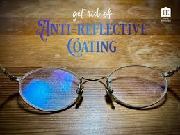 scratched anti reflective coating