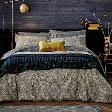 ziba patterned print bedding duvet cover