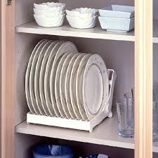 Plate Storage Rack Kitchen Aliexpresscom Buy White Folding Plastic Dish Plate Storage Rack