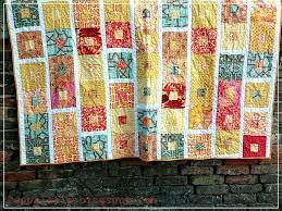 Puppilalla : Simple Framed Squares Patchwork Quilt - Indian Summer & Simple Framed Squares Patchwork Quilt - Indian Summer Adamdwight.com
