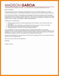 Receptionist Cover Letter 24 Sample Receptionist Cover Letter Letter Signature 22