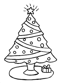 Christmas Tree Coloring Pages Coloring Home