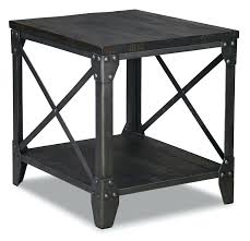 end tables leons wood and metal end tables wood and metal dining table uk