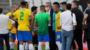 Brazil vs Argentina suspended as ...