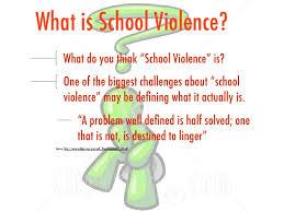 in schools essay violence in schools essay