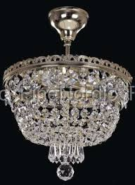 elite bohemia crystal chandelier ceiling mount with 3 lights silver finish bohemian crystal here code