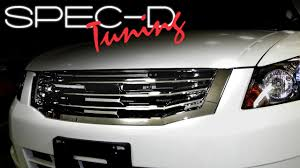 SPECDTUNING INSTALLATION VIDEO: 2008 AND UP HONDA ACCORD FRONT ...