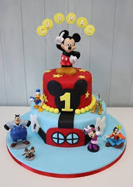 mickey mouse clubhouse birthday cake no