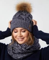 Как выглядеть модно зимой в шапке и шарфе