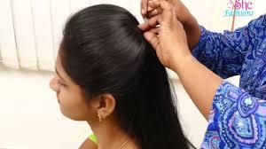 Easy Hair Style For Girl ladies hair style easy hair style for girls tutorial 2017 8782 by wearticles.com