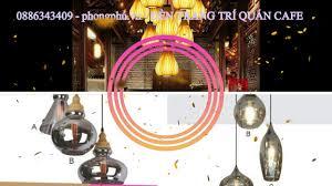 🔰 Phong Phú: Đèn led trang trí Quán CAFE - YouTube