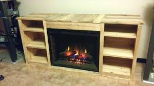 build your own wood fireplace insert ideas diy electric mantel for