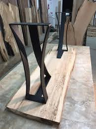 metal table legs console table base