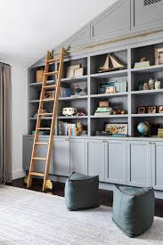 West Coast Paint And Design Client West Coast Is The Best Coast Playroom Shelves Blue