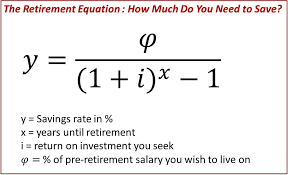the one retirement equation to rule them all