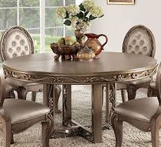 Orianne Antique Gold Dining Table 1stopbedrooms