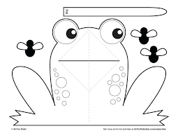 Printable Frog Template Frog Template Printable Templates Staggering
