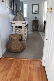 downstairs flooring before