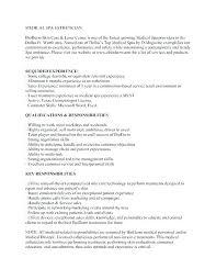 Esthetician Resume Sample – Lifespanlearn.info