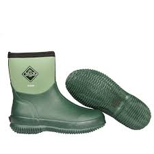 garden boots. Scrub Neoprene Green Garden Boots