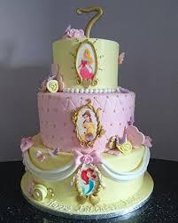 Disney Princess Themed Birthday Cake Cakecentralcom