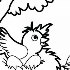 Coloring Pictures Of Bird Nests New Nest Coloring Page Little Bird