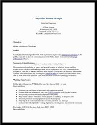 Dispatcher Job Description Resume Dispatcher Resume Objective Examples Awesome Collection Of Forour 34
