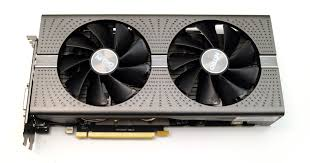 14 nm finfet 4th generation graphics core next gcn 1450 mhz gpu boost clock 8192 mb gddr5 memory 256 bit memory bus 2000 mhz memory clock