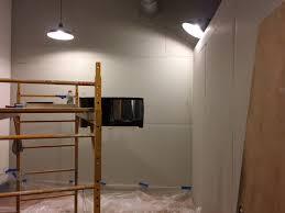 img 0353 finishing a studio build single stud wall or add a 2nd wall