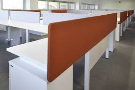 office separator. Countertop Office Divider Fabric Soundproofed Modular OFITA Separator
