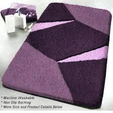 purple bathroom rugs large