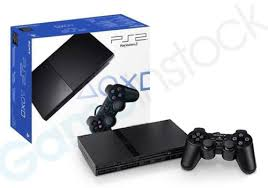 sony playstation 2 slim. playstation 2 console slim - charcoal black sony playstation s