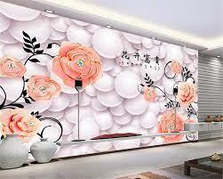 3D Wallpaper Large HD Soft Bag Rose ...
