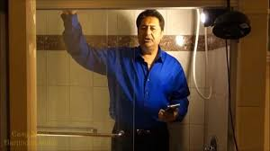 tips tricks how to clean glass shower doors remove hard water stains remove calcium build up you