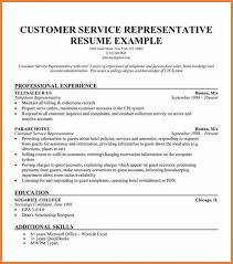 Customer Service Resumes Sop Proposal