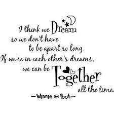 Sweet Dreams Movie Quotes Best of Winnie The Pooh Wall Quotes On We Heart It Visual Bookmark
